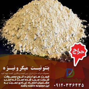 فروش بنتونیت میکرونیزه صنعتی
