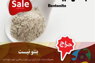 بنتونیت صنایع غذایی
