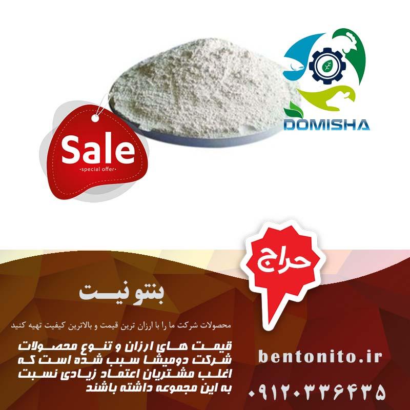 کاربرد بنتونیت میکرونیزه